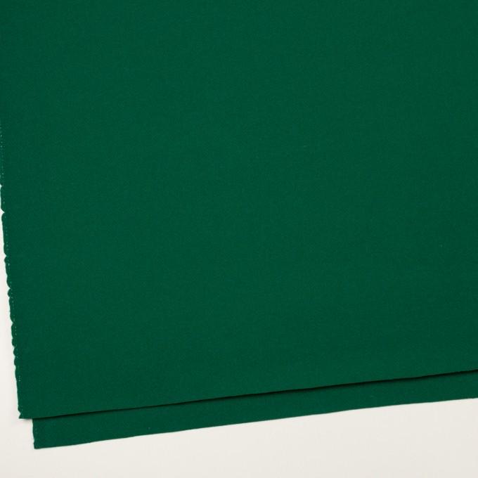 ウール×無地(グリーン)×カルゼ イメージ2