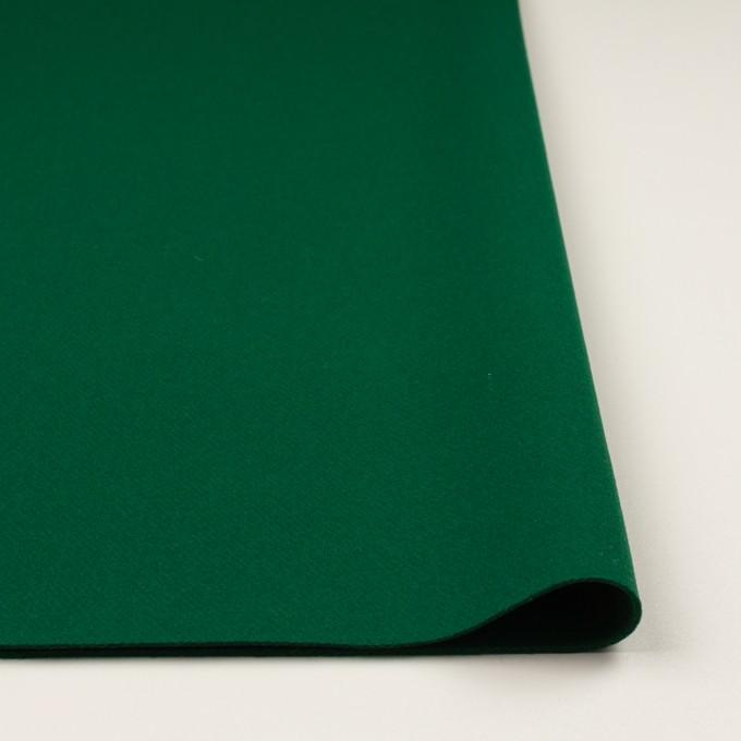 ウール×無地(グリーン)×カルゼ イメージ3