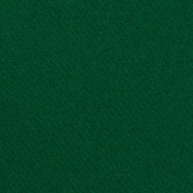 ウール×無地(グリーン)×カルゼ イメージ1