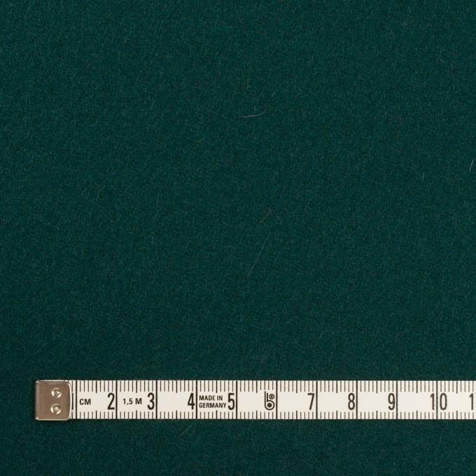 ウール×無地(クロムグリーン)×カルゼ イメージ4