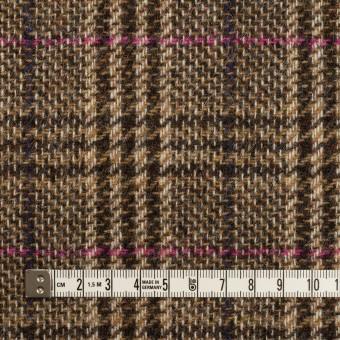 ウール×チェック(ジンジャー)×ツイード_全2色_イングランド製 サムネイル4