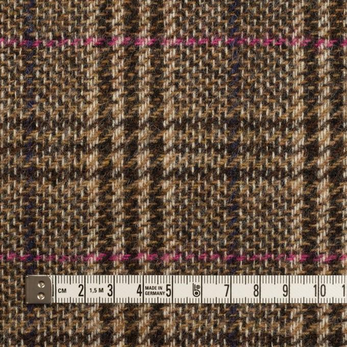 ウール×チェック(ジンジャー)×ツイード_全2色_イングランド製 イメージ4