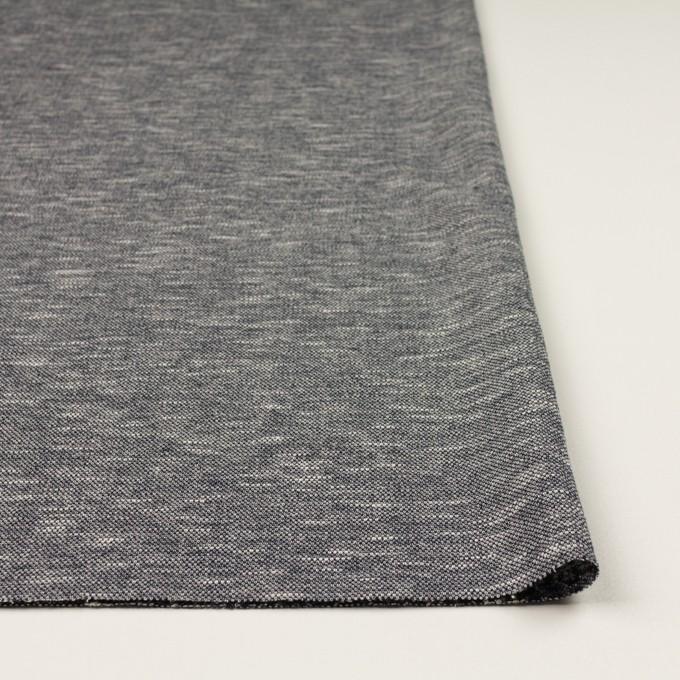 ウール&ポリエステル×ミックス(グレー)×ジャガードニット_全2色_イタリア製 イメージ3