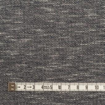ウール&ポリエステル×ミックス(グレー)×ジャガードニット_全2色_イタリア製 サムネイル4