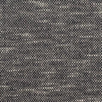 ウール&ポリエステル×ミックス(グレー)×ジャガードニット_全2色_イタリア製 サムネイル1