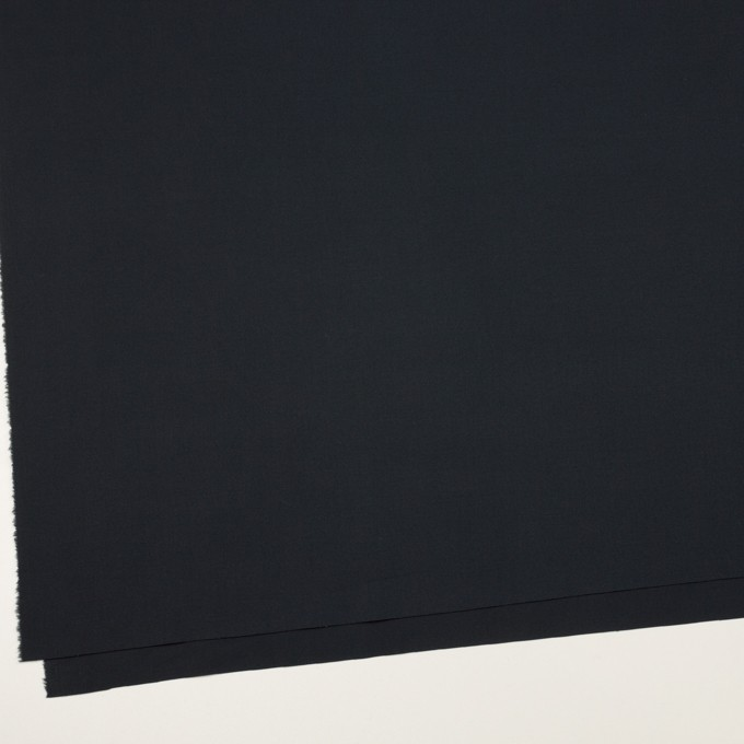 コットン×無地(ダークネイビー)×タッサーポプリン イメージ2