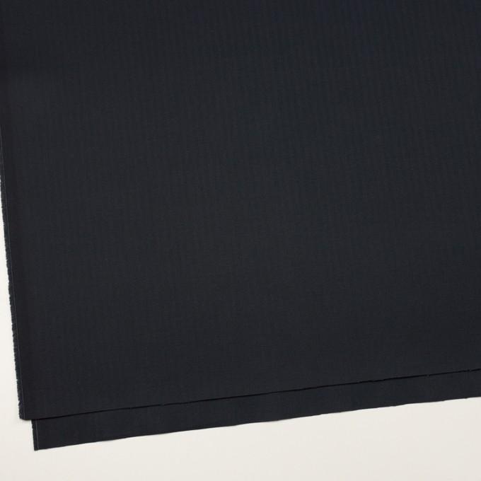 コットン×無地(ダークネイビー)×ヘリンボーン イメージ2