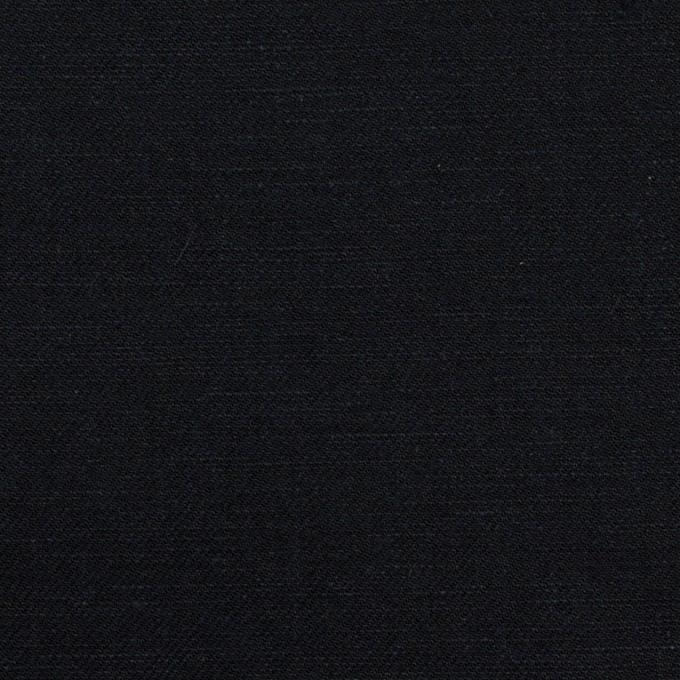 コットン&リネン×無地(ダークネイビー)×シャンブレー・サージ イメージ1
