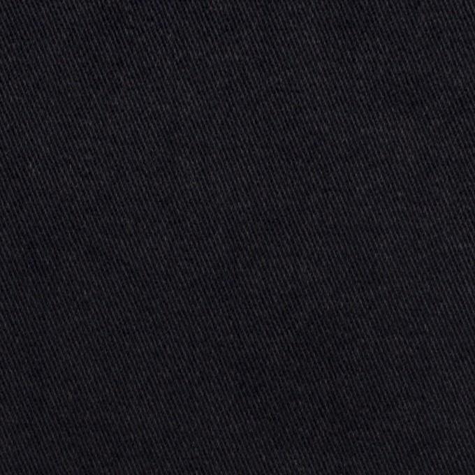 コットン×無地(ダークネイビー)×チノクロス イメージ1