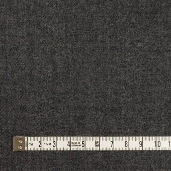 ウール×無地(チャコールグレー)×ガーゼ サムネイル4