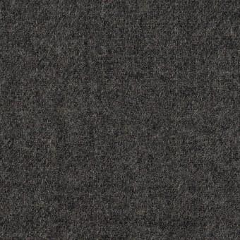 ウール×無地(チャコールグレー)×ガーゼ サムネイル1