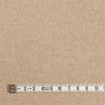 ウール×ミックス(ライトベージュ)×かわり織 サムネイル4