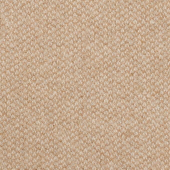 ウール×ミックス(ライトベージュ)×かわり織 イメージ1