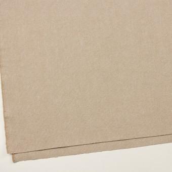 ウール&リネン×ミックス(グレイッシュベージュ)×かわり織 サムネイル2