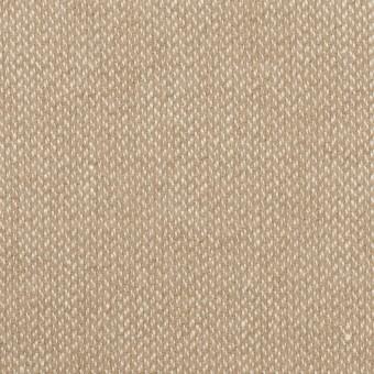 ウール&リネン×ミックス(グレイッシュベージュ)×かわり織