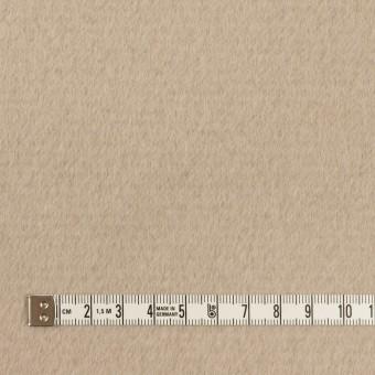 ウール&アンゴラ×無地(グレイッシュベージュ)×ビーバー サムネイル4