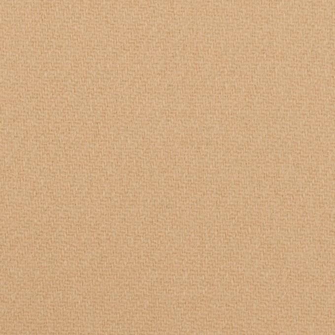 ウール×無地(ベージュ)×Wフェイス・カルゼ イメージ1
