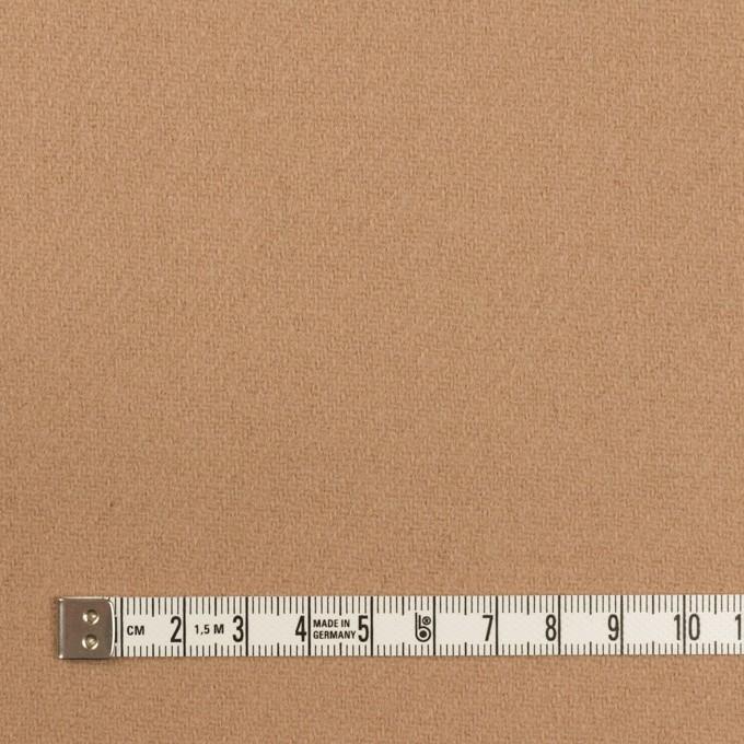 ウール×無地(オークル)×カルゼ イメージ4