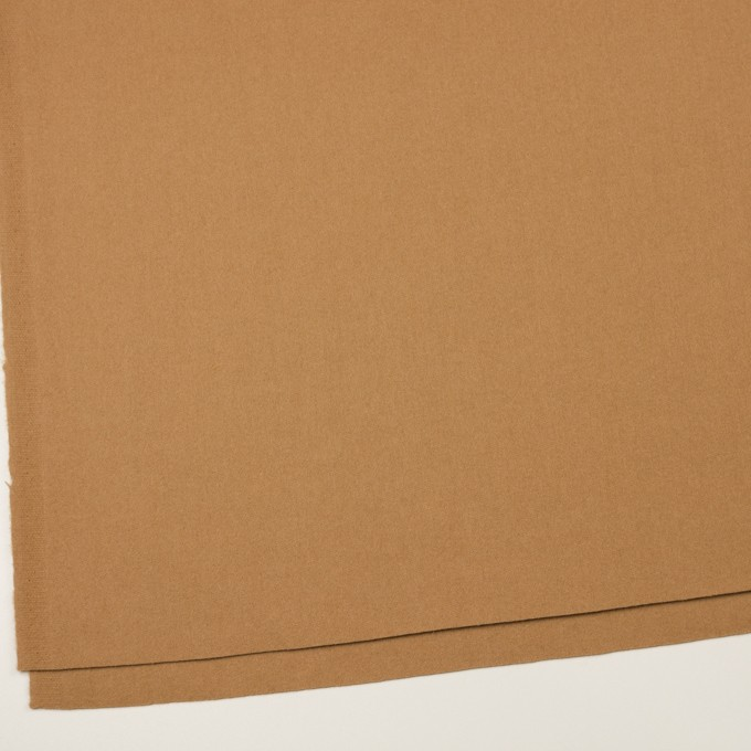 ウール&アンゴラ×無地(キャメル)×フラノ(フランネル) イメージ2
