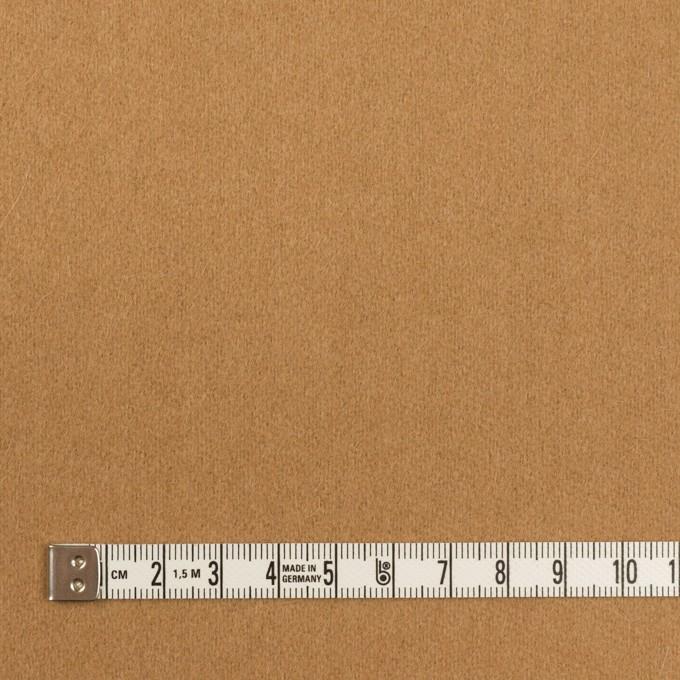 ウール&アンゴラ×無地(キャメル)×フラノ(フランネル) イメージ4