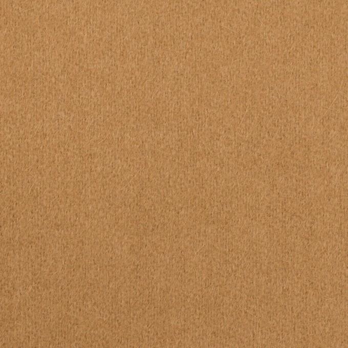 ウール&アンゴラ×無地(キャメル)×フラノ(フランネル) イメージ1