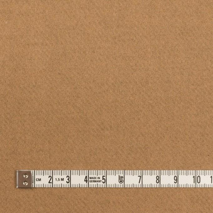 ウール×無地(オークル&ベージュ)×Wフェイス・カルゼ イメージ4