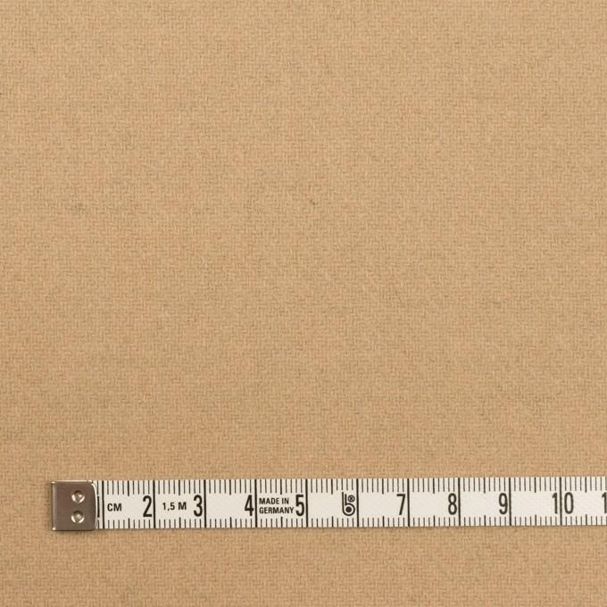 ウール×無地(オークル&ベージュ)×Wフェイス・カルゼ イメージ6