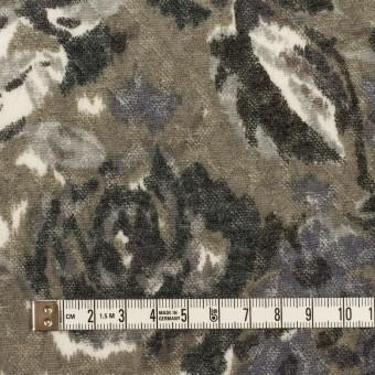 ポリエステル&ウール×フラワー(グレー)×ジャガードニット_全2色 サムネイル4