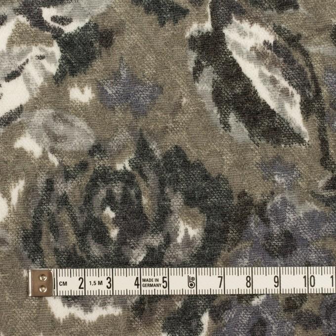 ポリエステル&ウール×フラワー(グレー)×ジャガードニット_全2色 イメージ4