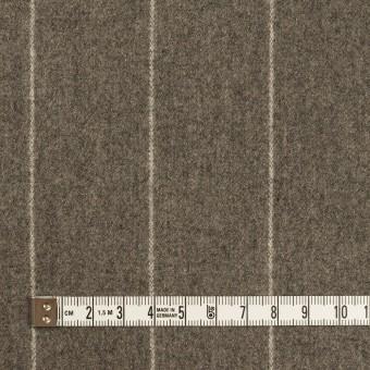 ウール×ストライプ(アッシュブラウン)×フラノ(フランネル) サムネイル4