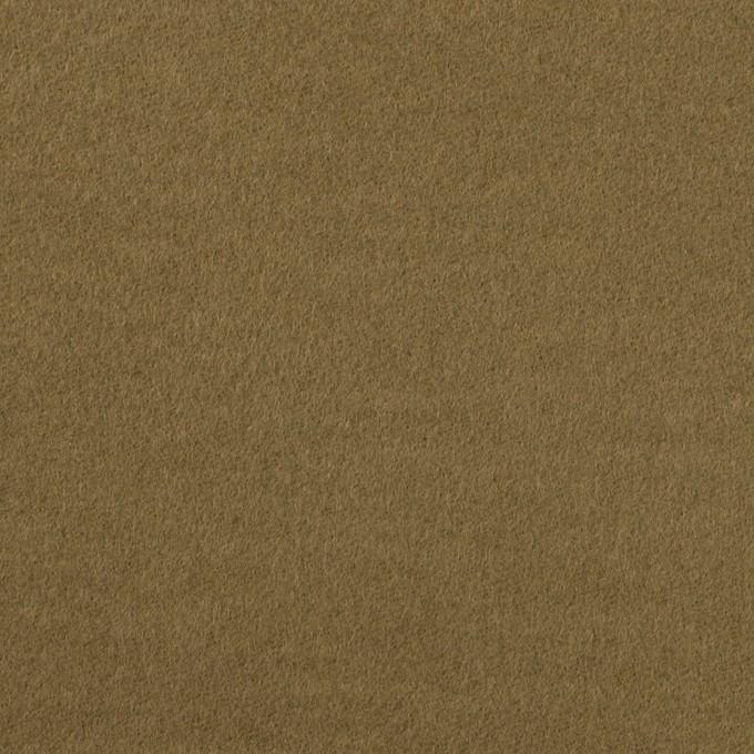コットン×無地(カーキ)×フランネル_全2色 イメージ1
