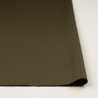 コットン&リヨセル×無地(ダークカーキ)×二重織(裏面起毛)_全2色 サムネイル3