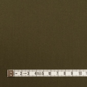 コットン&リヨセル×無地(ダークカーキ)×二重織(裏面起毛)_全2色 サムネイル4
