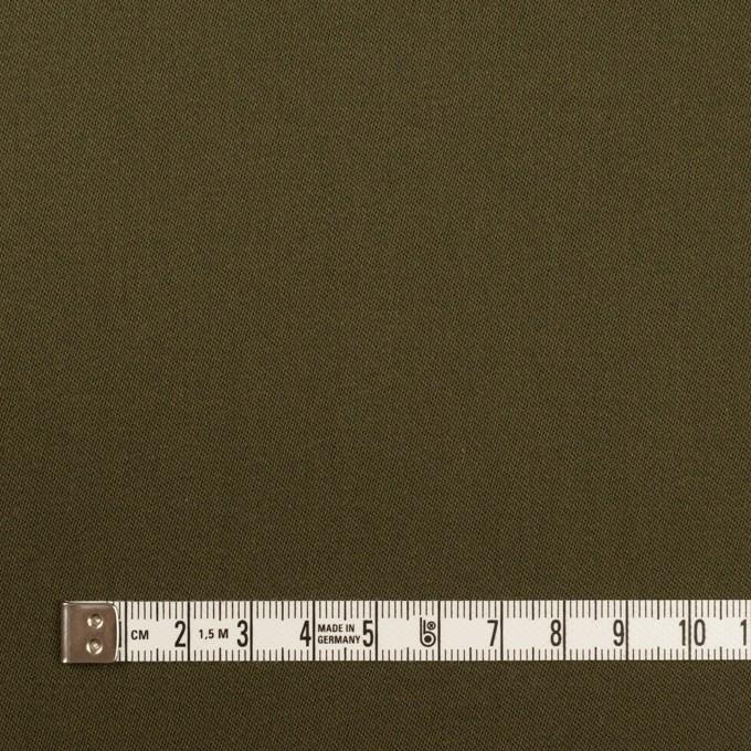 コットン&リヨセル×無地(ダークカーキ)×二重織(裏面起毛)_全2色 イメージ4