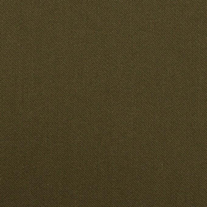 コットン&リヨセル×無地(ダークカーキ)×二重織(裏面起毛)_全2色 イメージ1