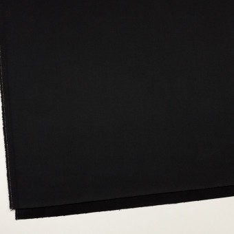コットン&リヨセル×無地(ブラック)×二重織(裏面起毛)_全2色 サムネイル2