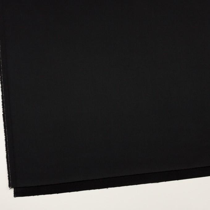 コットン&リヨセル×無地(ブラック)×二重織(裏面起毛)_全2色 イメージ2