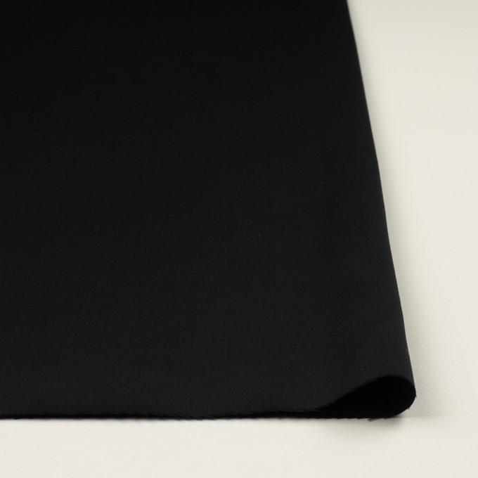 コットン&リヨセル×無地(ブラック)×二重織(裏面起毛)_全2色 イメージ3