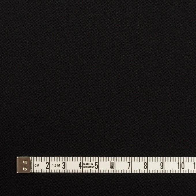 コットン&リヨセル×無地(ブラック)×二重織(裏面起毛)_全2色 イメージ4