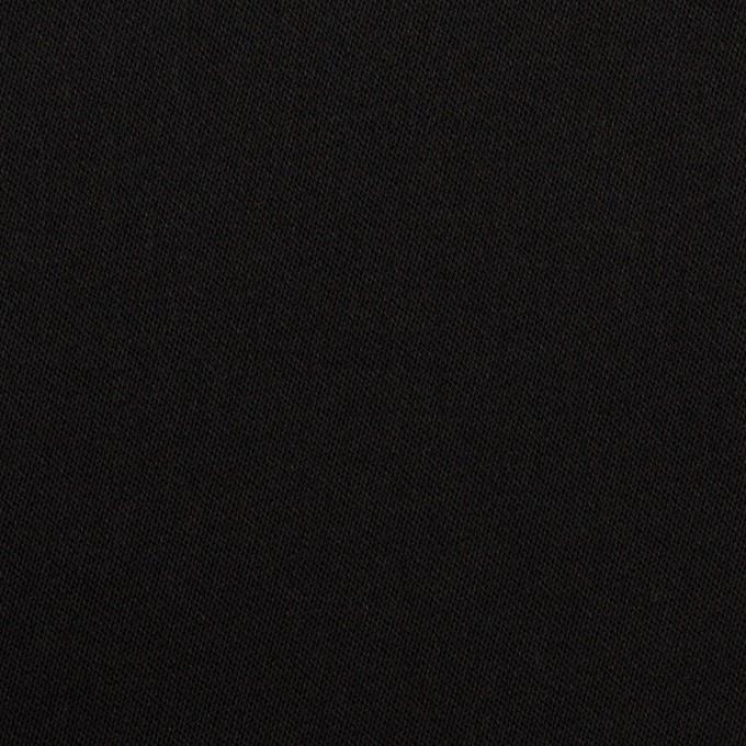 コットン&リヨセル×無地(ブラック)×二重織(裏面起毛)_全2色 イメージ1