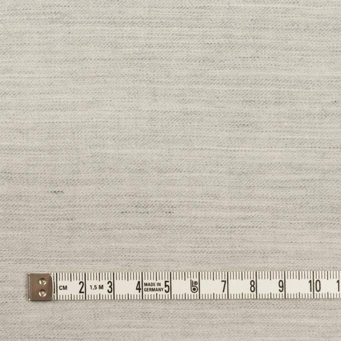 ウール&リネン×ミックス(杢グレー)×サージ イメージ4
