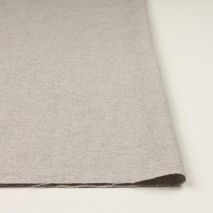 コットン&ウール混×ミックス(ストーングレー)×ビエラ イメージ3