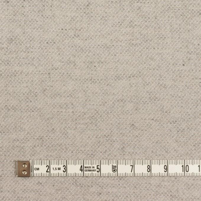 コットン&ウール混×ミックス(ストーングレー)×ビエラ イメージ4