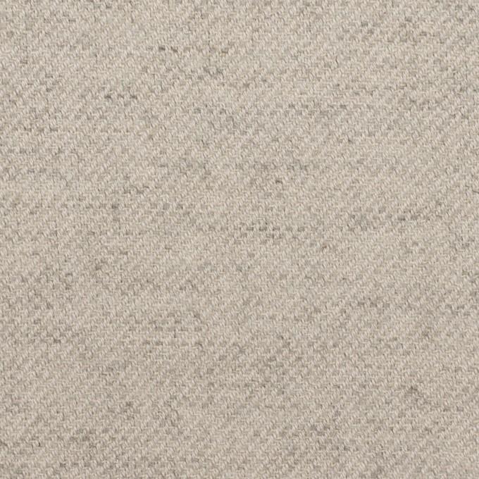 コットン&ウール混×ミックス(ストーングレー)×ビエラ イメージ1