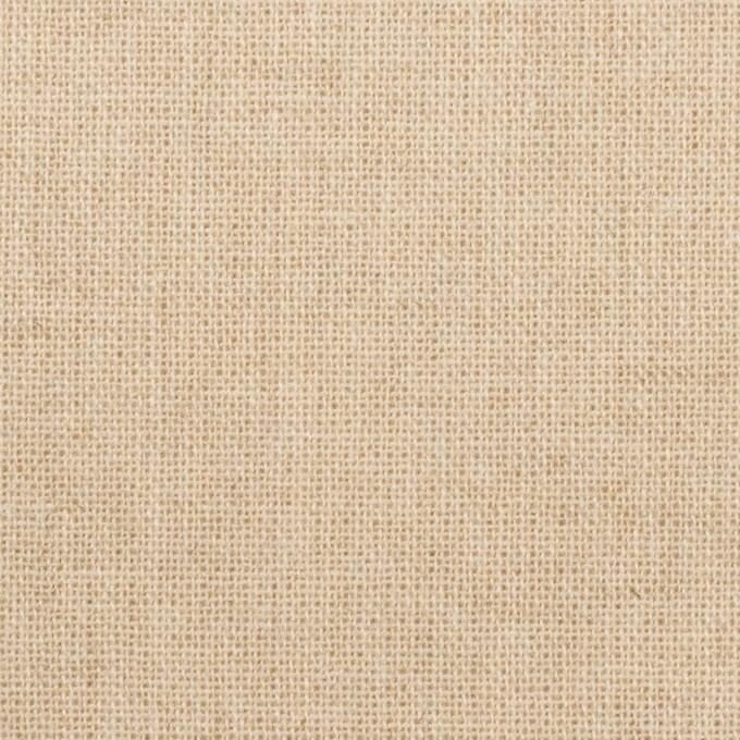 リネン&ポリエステル混×無地(エクリュ)×キャンバス イメージ1