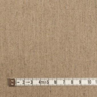 ウール&ポリウレタン×無地(オートミール)×サージストレッチ サムネイル4