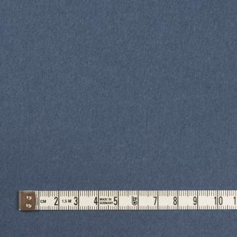 ウール×無地(アッシュブルー)×Wフェイス・フラノ サムネイル4