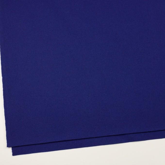 ウール×無地(マリンブルー)×二重織 イメージ2