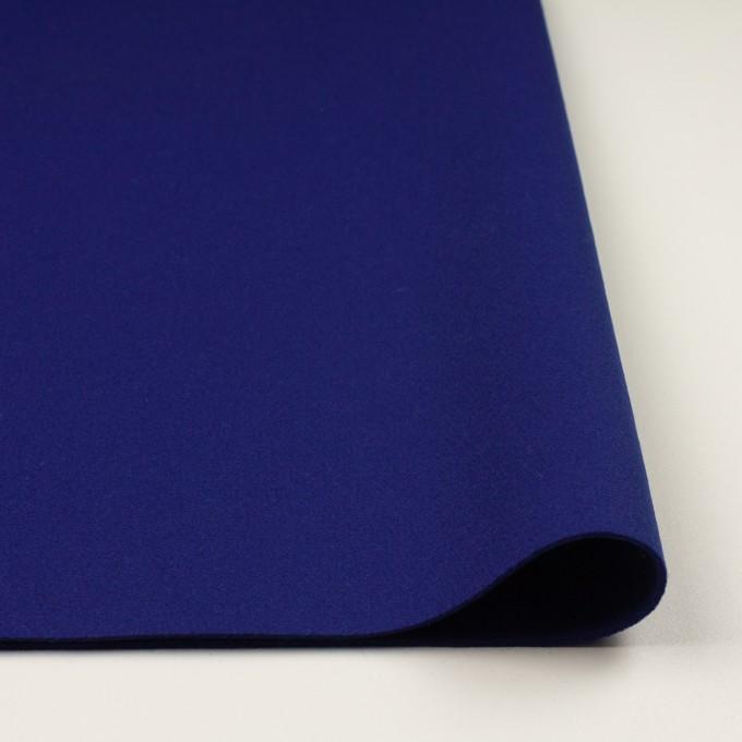 ウール×無地(マリンブルー)×二重織 イメージ3