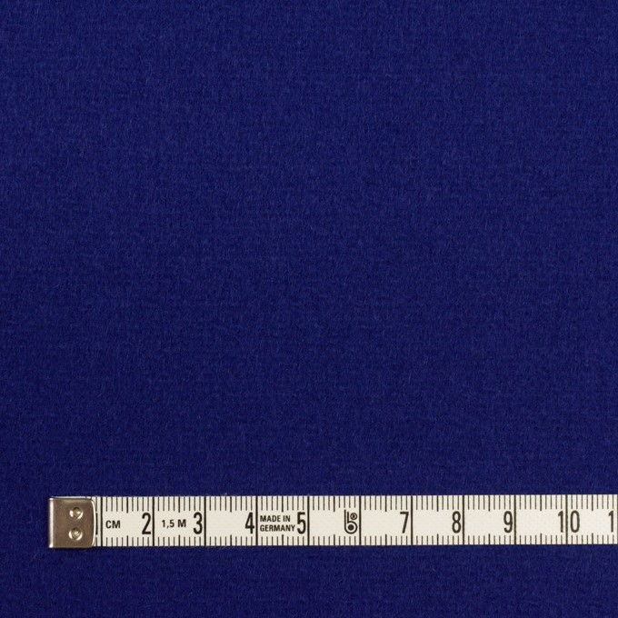 ウール×無地(マリンブルー)×二重織 イメージ4